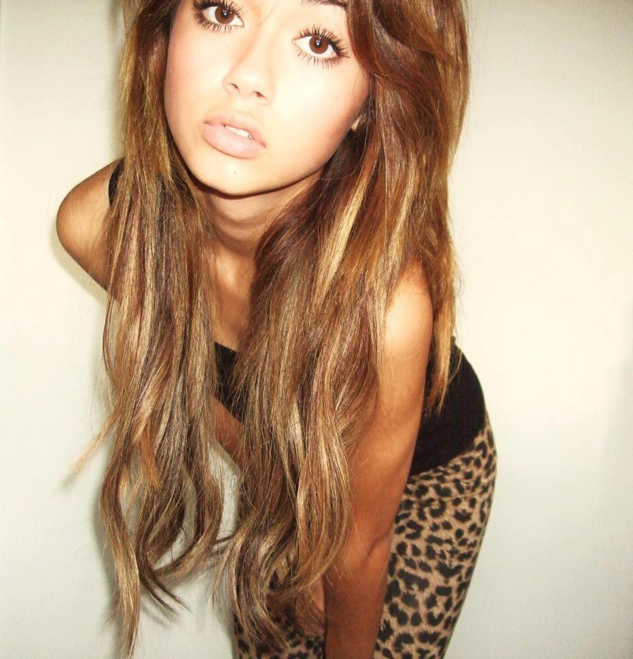 Фото девушек с коричневыми